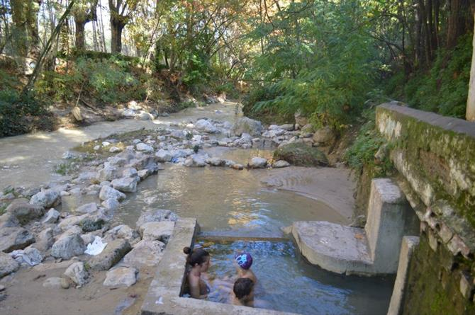 Warm waterbaden in Alhama De Granada